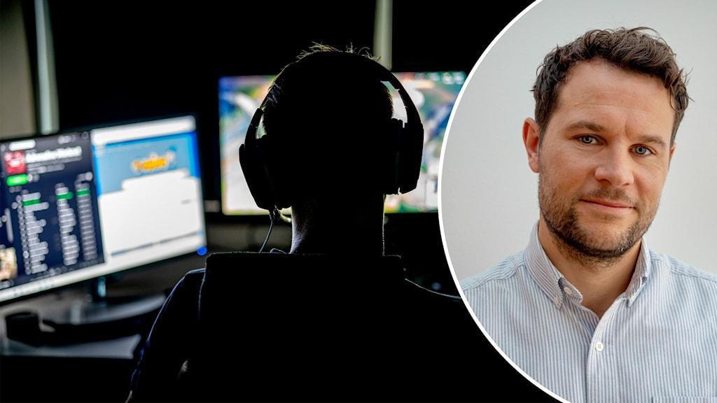 Forskaren och psykologen Anders Nilsson vid Karolinska institutet.