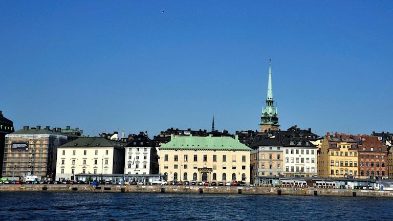 Skeppsbron vid Gamla Stan. Foto Hasse Holmberg /TT.