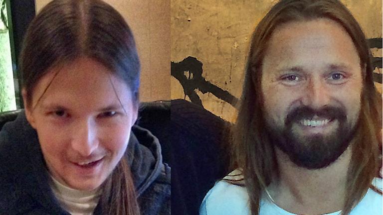Shellback och Max Martin. Foto: Fredrik Eliasson/Sveriges Radio