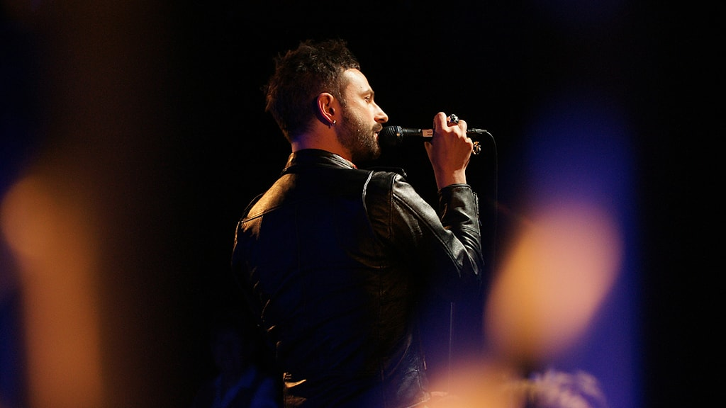 Ola Salo i Musikplats Stockholm. Foto: Ola Gäverth/Sveriges Radio