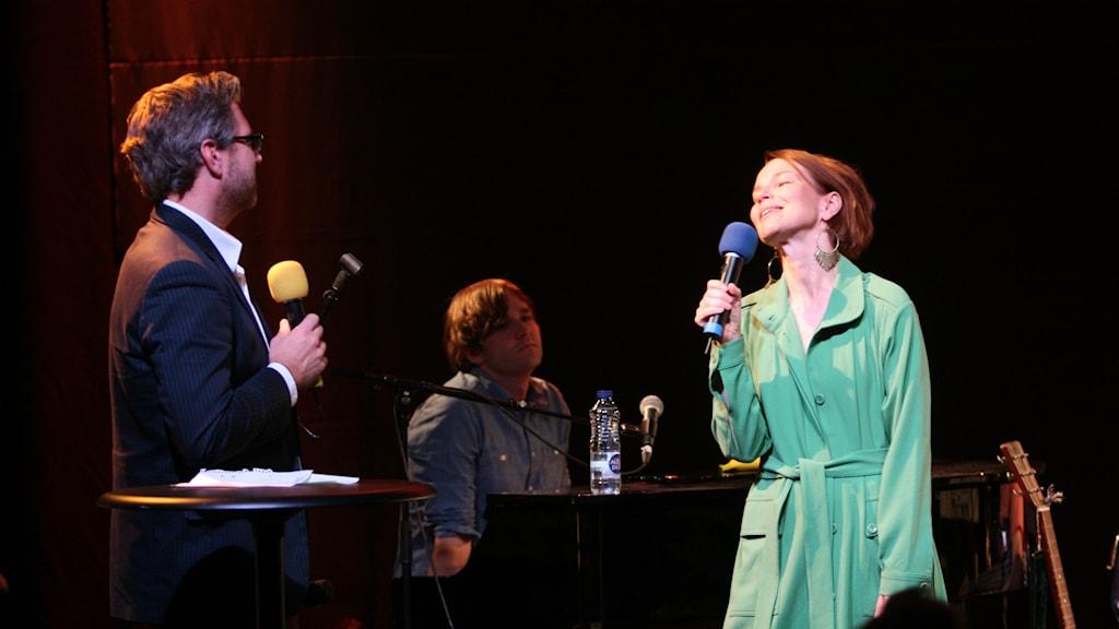 Anna Järvinen. Foto: Lars-Åke Gustavsson/Sveriges Radio