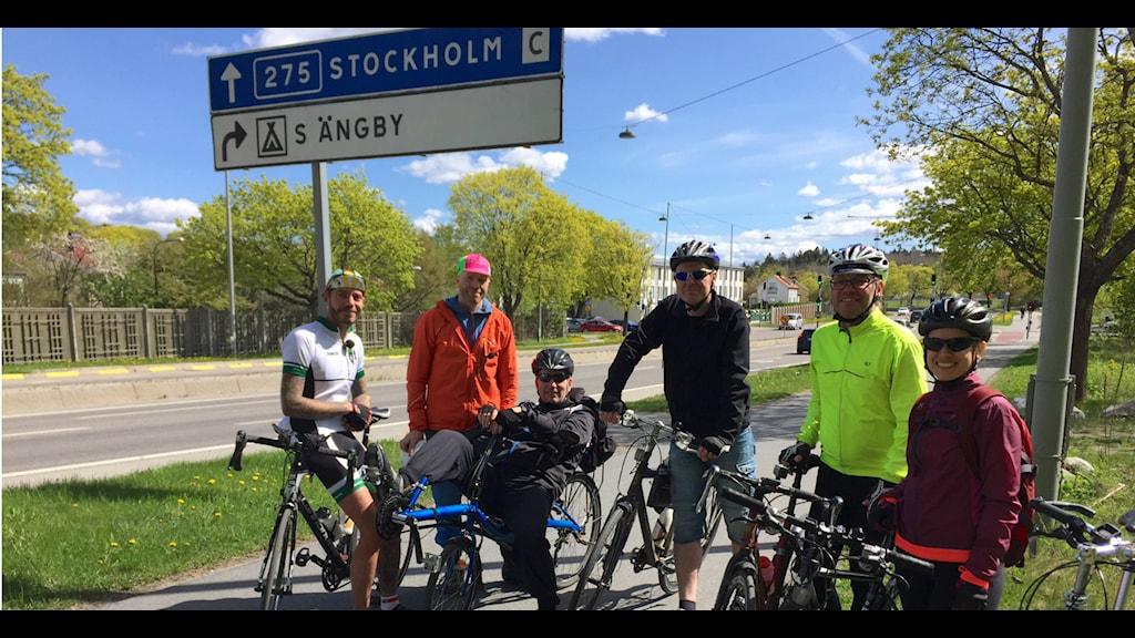 Cykelbanor filmas av cyklister - ska visa bristerna för Trafikverket.