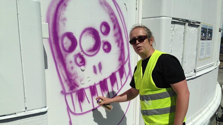 Rolf Karl Werner. Foto: Robin Oljelund Kjellberg/Sveriges Radio