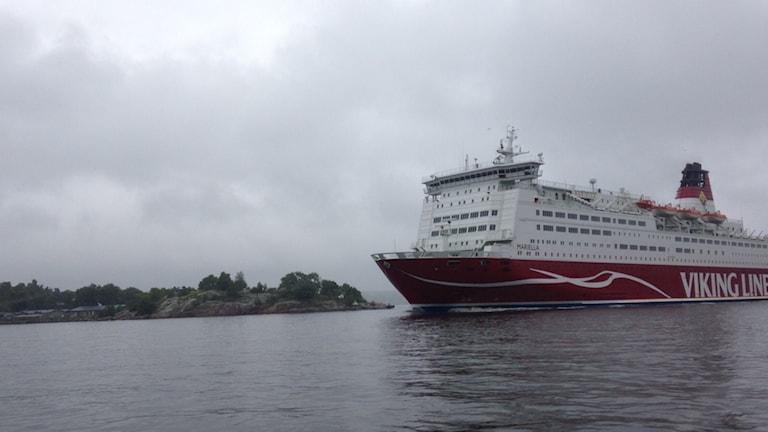 Viking Line. Foto: SR.