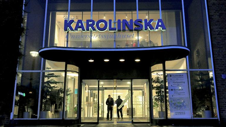 Karolinska. Foto: TT