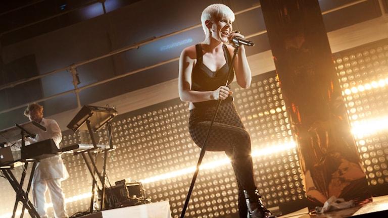 Artisten Robyn. Foto: Stina Gullander/Sveriges Radio