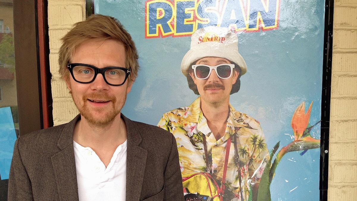 """Anders """"Ankan"""" Johansson ska spela Stig-Helmer i musikalen. Foto: Sveriges Radio."""
