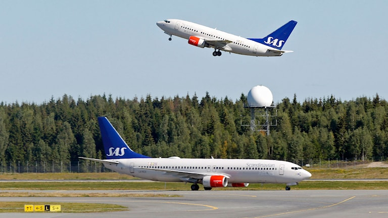 SAS may cancel Saturday's flight from Copenhagen to Sharm el-Sheikh. Photo: Vidar Ruud/TT