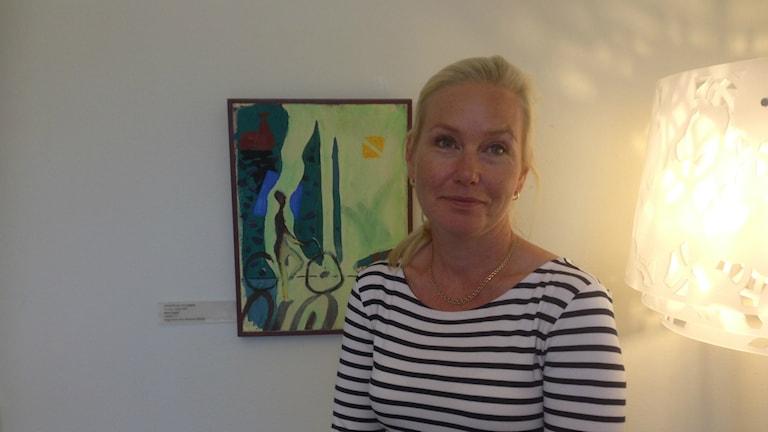 Infrastrukturminister Anna Johansson (S) Foto: Ulf Bungerfeldt, P4 Stockholm
