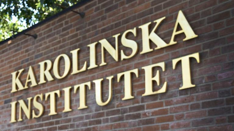 Karolinska Institutet. Foto: Anders Wiklund / TT /