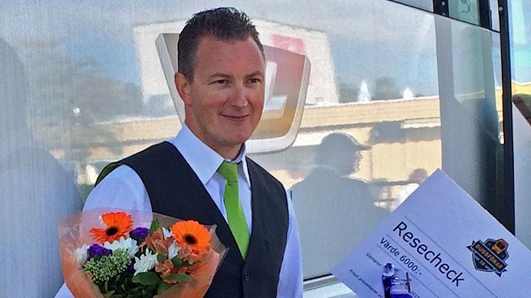 Krister Nilsson vann bussförar SM
