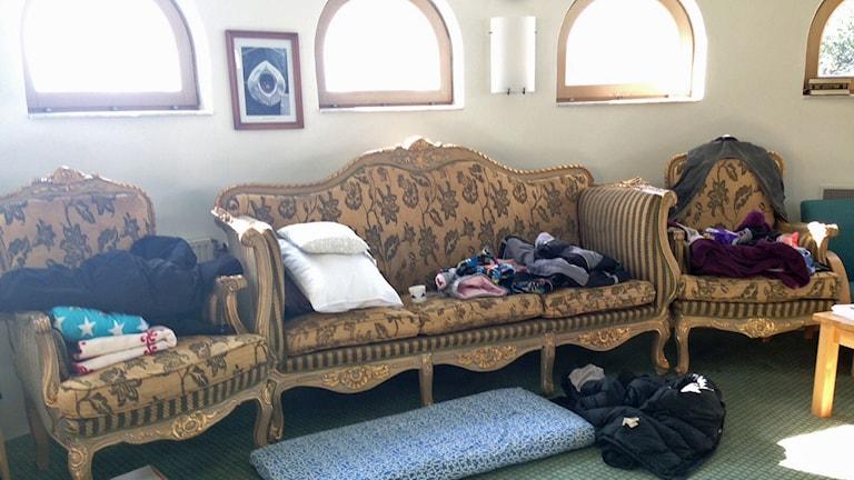 Sovplats i Mosken