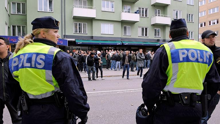 Polisbevakning