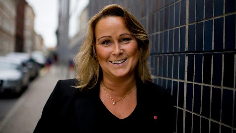 Camilla Janson (S) kommunalråd Upplands Bro.