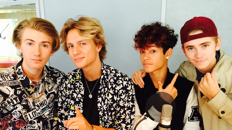 The Fooo Conspiracy. Foto: Sveriges Radio