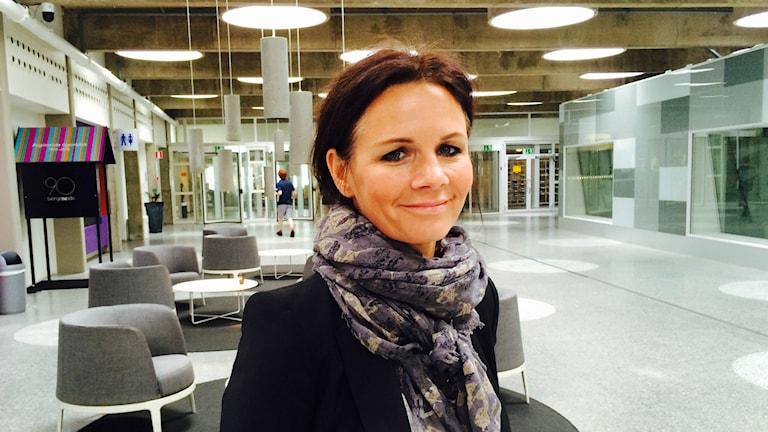 Lena Philipsson. Foto: Fredrik Eliasson/Sveriges Radio