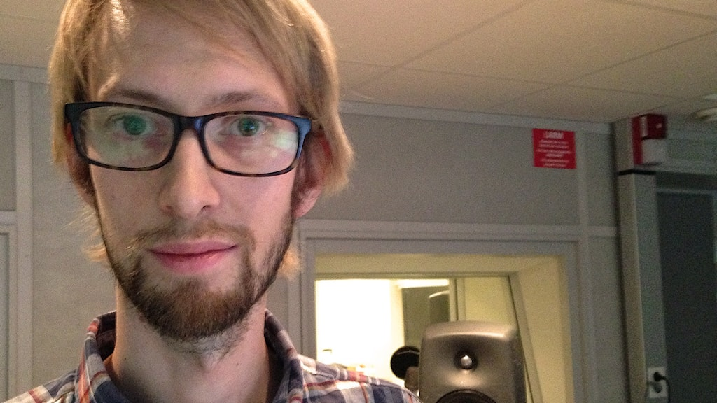 Erik Andersson. Foto: Ylva Lilja/Sveriges Radio