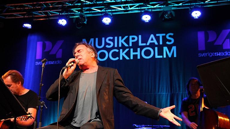 Rikard Wolff. Foto: Madeleine Rollenhagen/Sveriges Radio
