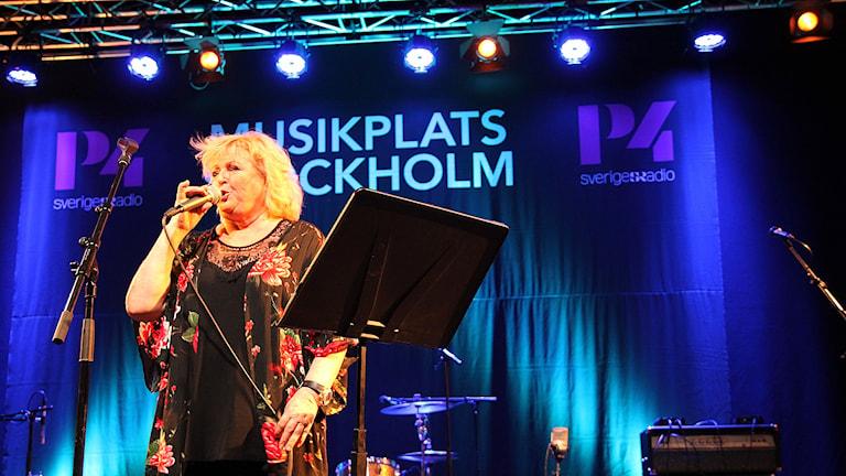 Kikki Danielsson. Foto: Madeleine Rollenhagen/Sveriges Radio