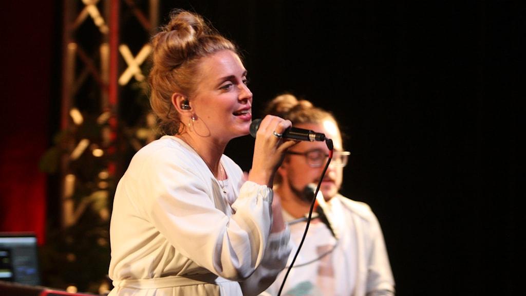 Syster Sol på Musikplatsen. Foto: Lars-Åke Gustavsson/Sveriges Radio