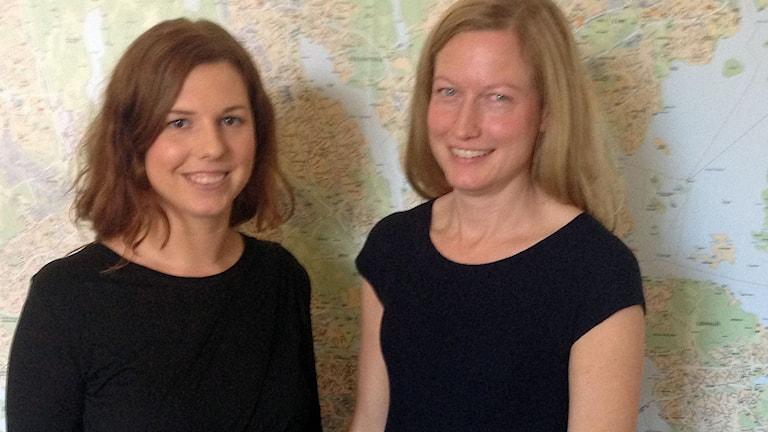 Socialdemokratiskt idrottsborgarrådet Emilia Bjuggren berättar tillsammans med miljöborhgarrådet, miljöpartiets Katarina Luhr om satsningen.