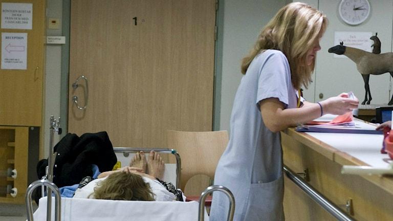 Alla får inte plats på förlossningen. Foto: TT