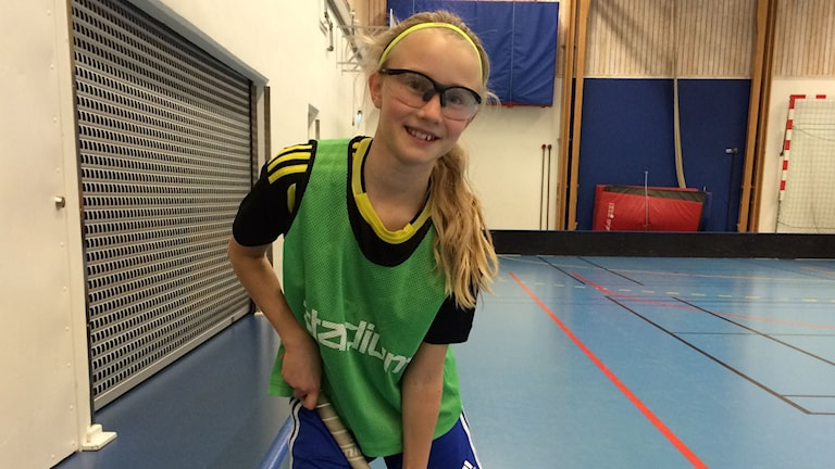 Ellen Ulvshammar, 11 år. Foto: Lasse Persson