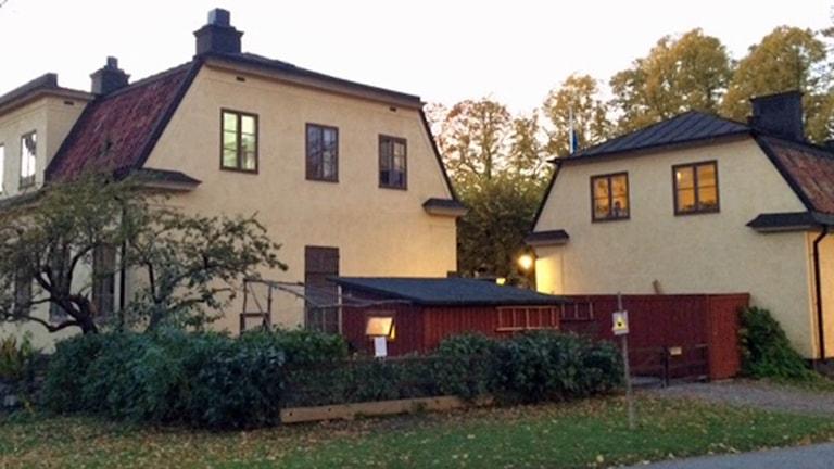 Kristinehovs Malmgård på Södermalm (arkivbild). Foto: August Bergkvist/Sveriges Radio