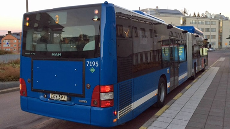 SL-buss (arkivbild). Foto: August Bergkvist/Sveriges Radio