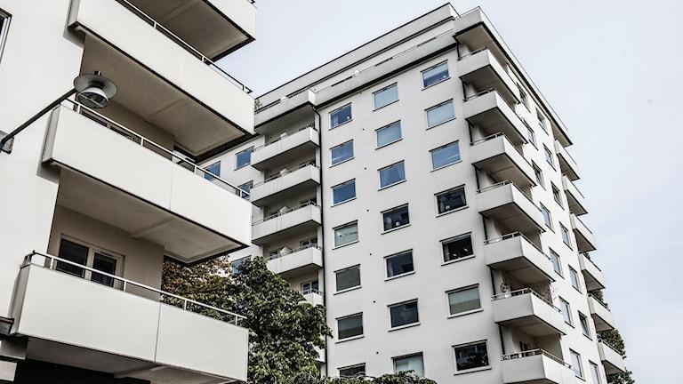 Lägenhetshus i Stockholm. Foto: Tomas Oneborg/SvD/TT