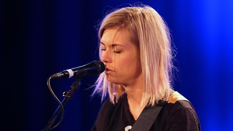 Anna Ternheim. Foto: Lars-Åke-Gustavsson/Sveriges Radio