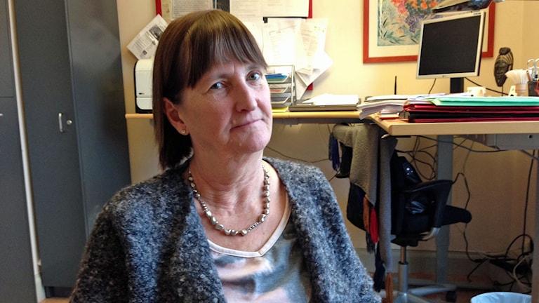 Gunilla Johansson (s) är ordförande i äldrenämnden i Sigtuna kommun.