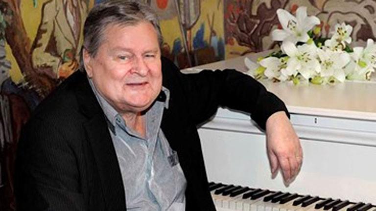 Kjell Öhman var under många år kapellmästare för Allsång på Skansen (arkivbild). Foto: Carl-Johan Söder/SVT
