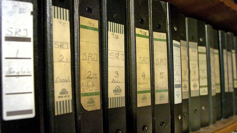 Arkiv pärmar