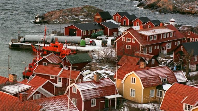 Byn Landsort på Öja utanför Nynäshamn (arkivbild). Foto: Jan Collsiöö/TT