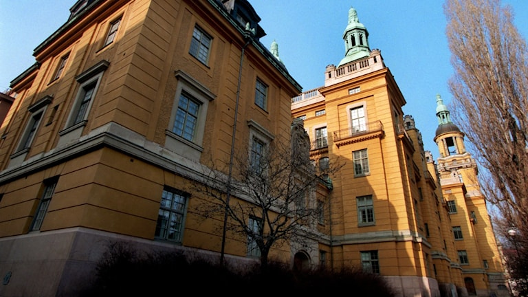 Polishuset i Stockholm. Foto: Janerik Henriksson/TT