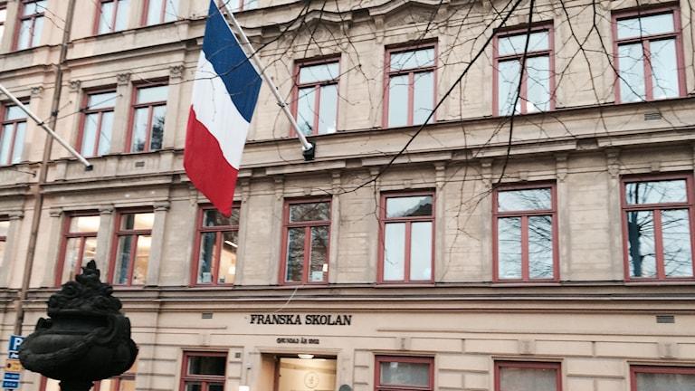 Franska skolan i Stockholm. Foto: Sveriges Radio.
