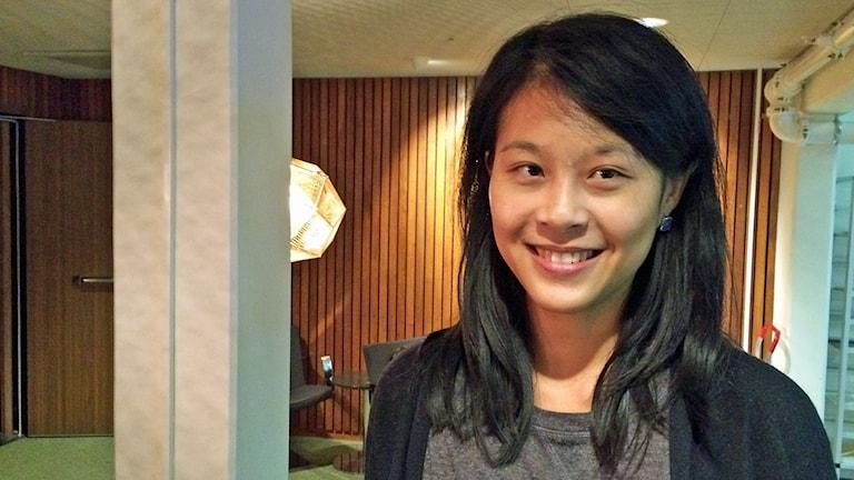 Shimeng Zhou ska till klimattoppmötet i Paris