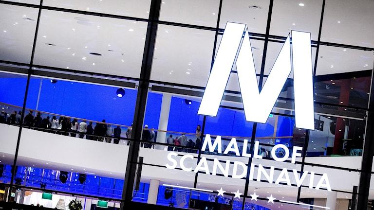 Entrén till Mall of Scandinavia. Foto: Marcus Ericsson / TT