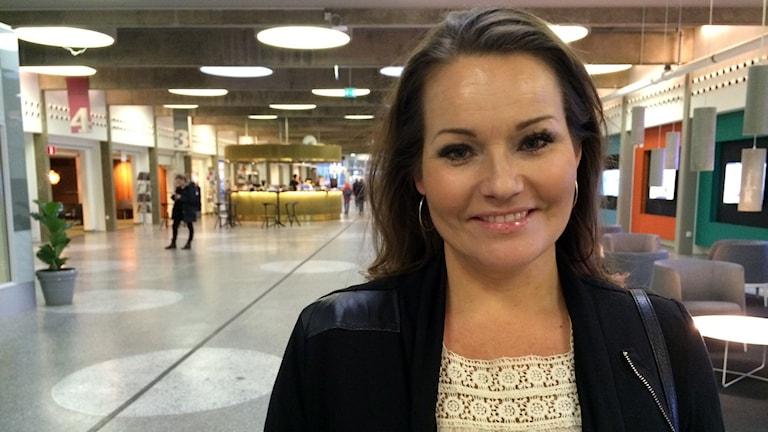 Nina Hermansen har sedan tonåren lidit av hypokondri. Foto: Julia Kero/ Sveriges Radio