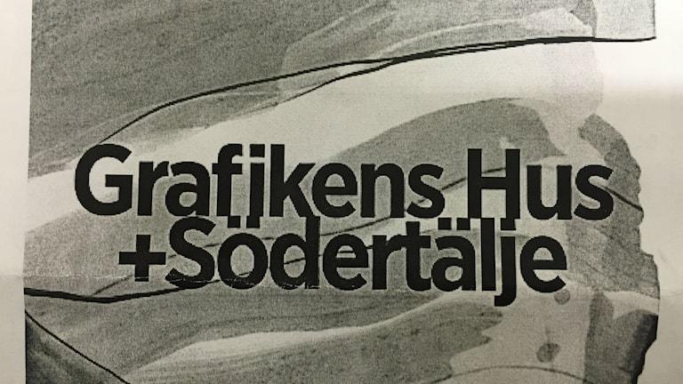 Grafikens hus öppnar i Södertälje. Foto: Peter Lindberg P4 Stockholm