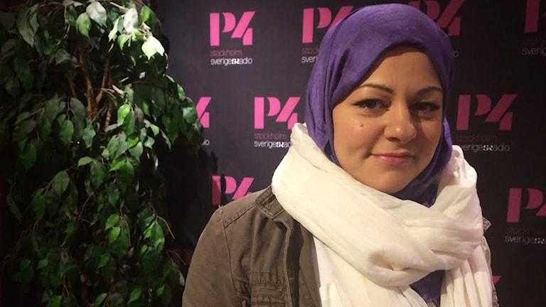 Zeina Mourtadas blogg vann folkets hjärta när Matbloggspriset delades ut. Foto: Julia Kero/ Sveriges Radio