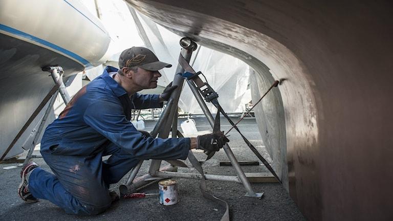 HaV startar ett projekt för att få båtägare att använda mer miljövänlig bottenfärg för sina båtar.