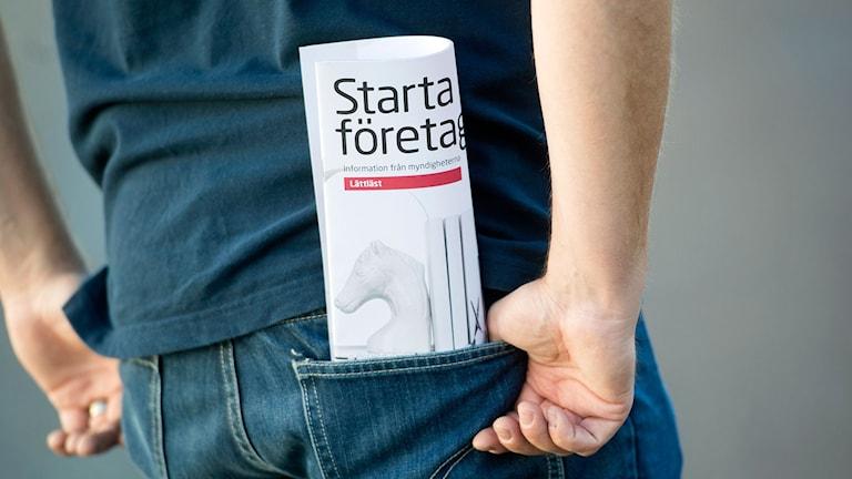 Starta eget broschyr
