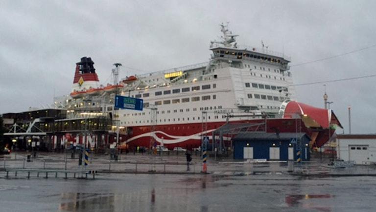 Viking lines terminal på Södermalm i Stockholm (arkivbild). Foto: August Bergkvist/Sveriges Radio