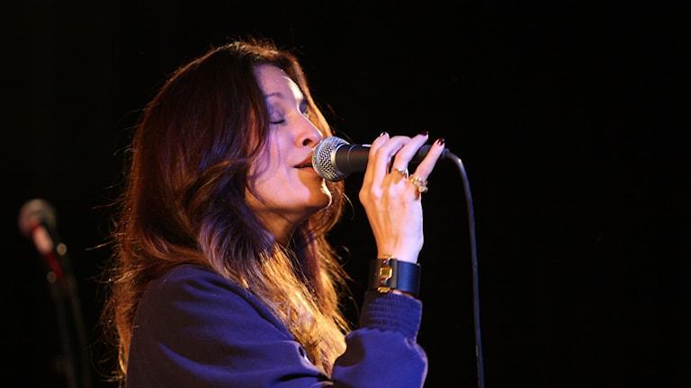 Jennifer Brown på Musikplats Stockholm. Foto: Lars-Åke Gustavsson/Sveriges Radio