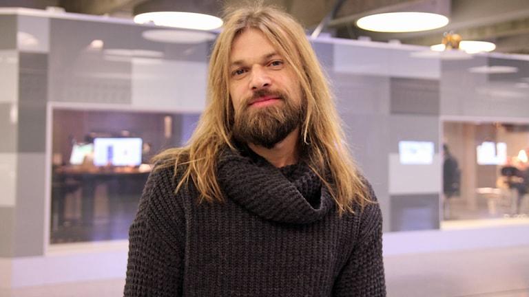 Carl Einar Häckner. Foto: Emelie Smedslund/Sveriges Radio.