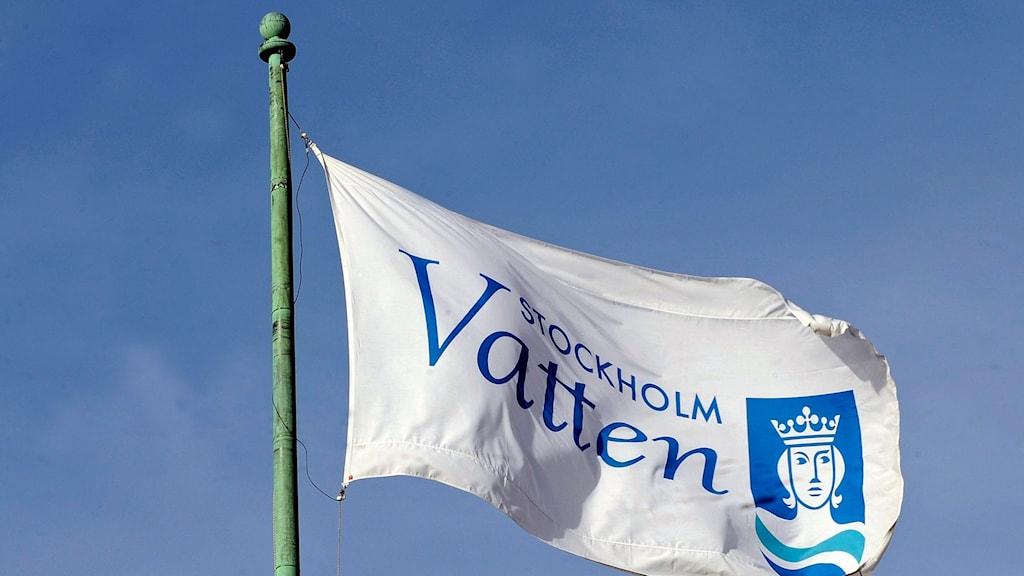 Stockholm vatten flagga