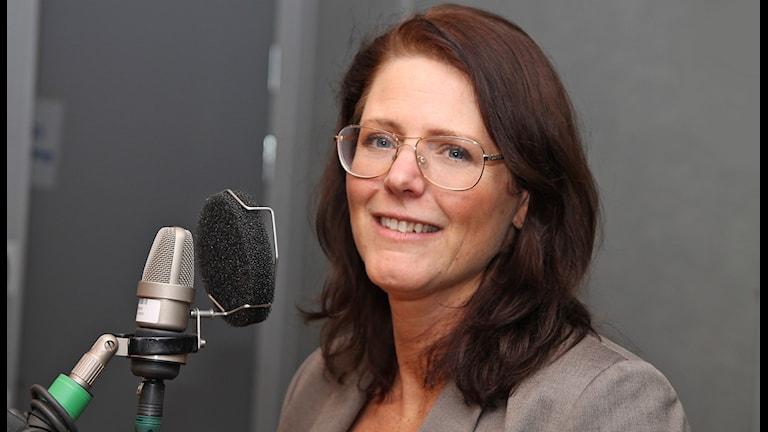 Ebba Östlin (S). Foto: Sveriges Radio.