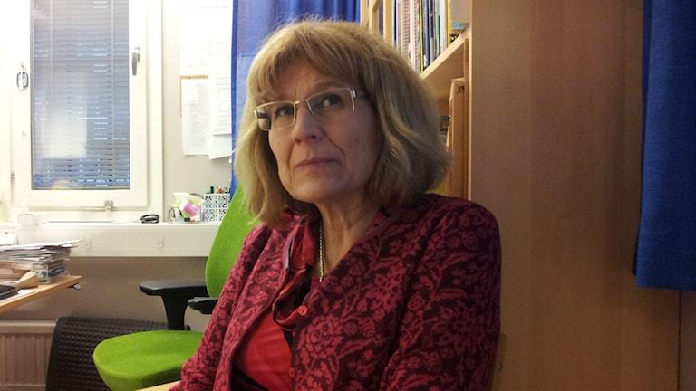 Anna-Lena Bergman, verksamhetschef för Rinkeby Vårdcentral. Foto: Peter Johansson/Sveriges Radio